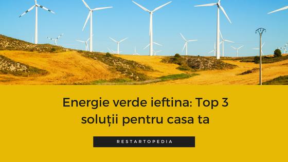 energie verde restart energy